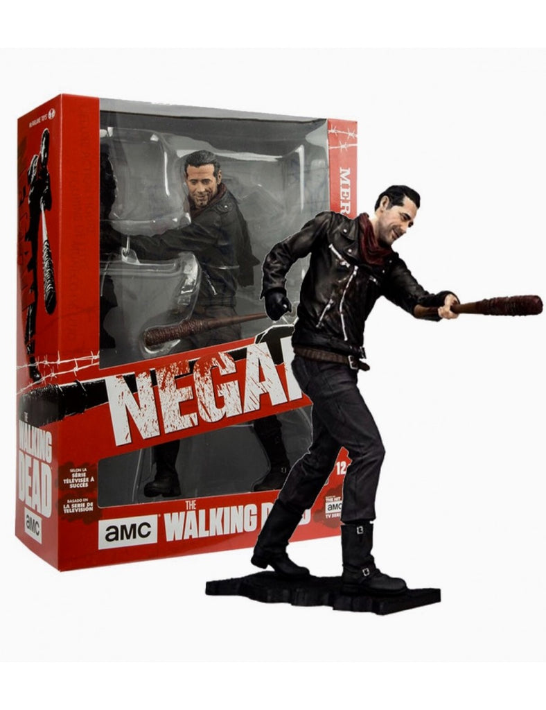 "McFarlane Toys Walking Dead Negan Merciless Edition 10"" Deluxe Figure"