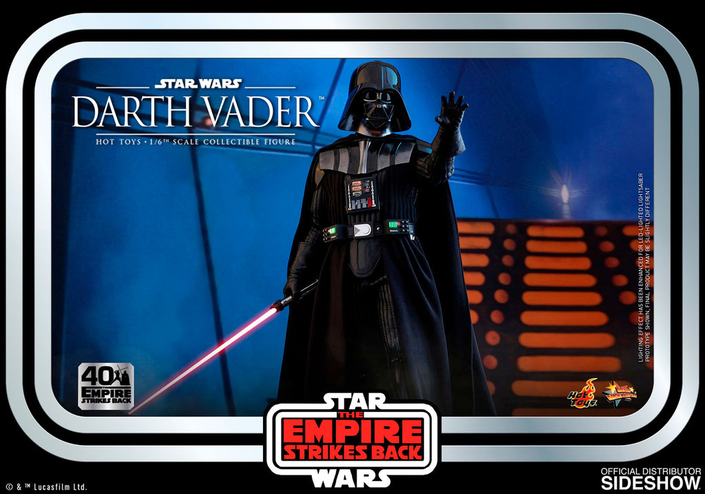 Darth Vader Star Wars: The Empire Strikes Back 40th Anniversary Collection - Movie Masterpiece Series (PreOrder)
