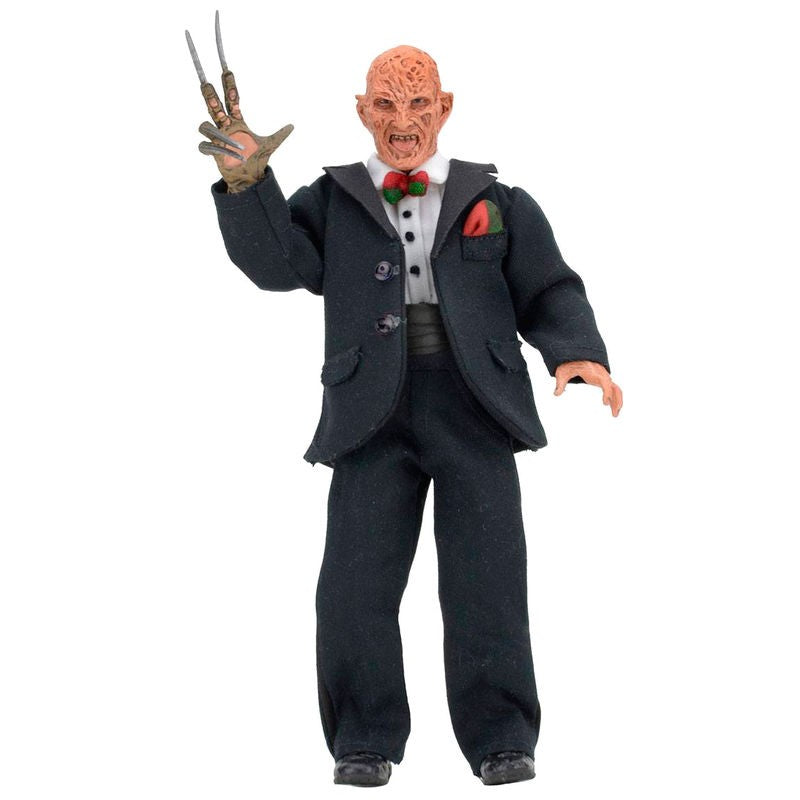 Nightmare On Elm Street Tuxedo Freddy Retro Figure