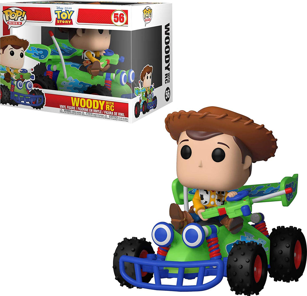 Funko  Pop! Rides -Disney: Toy Story - Woody with RC