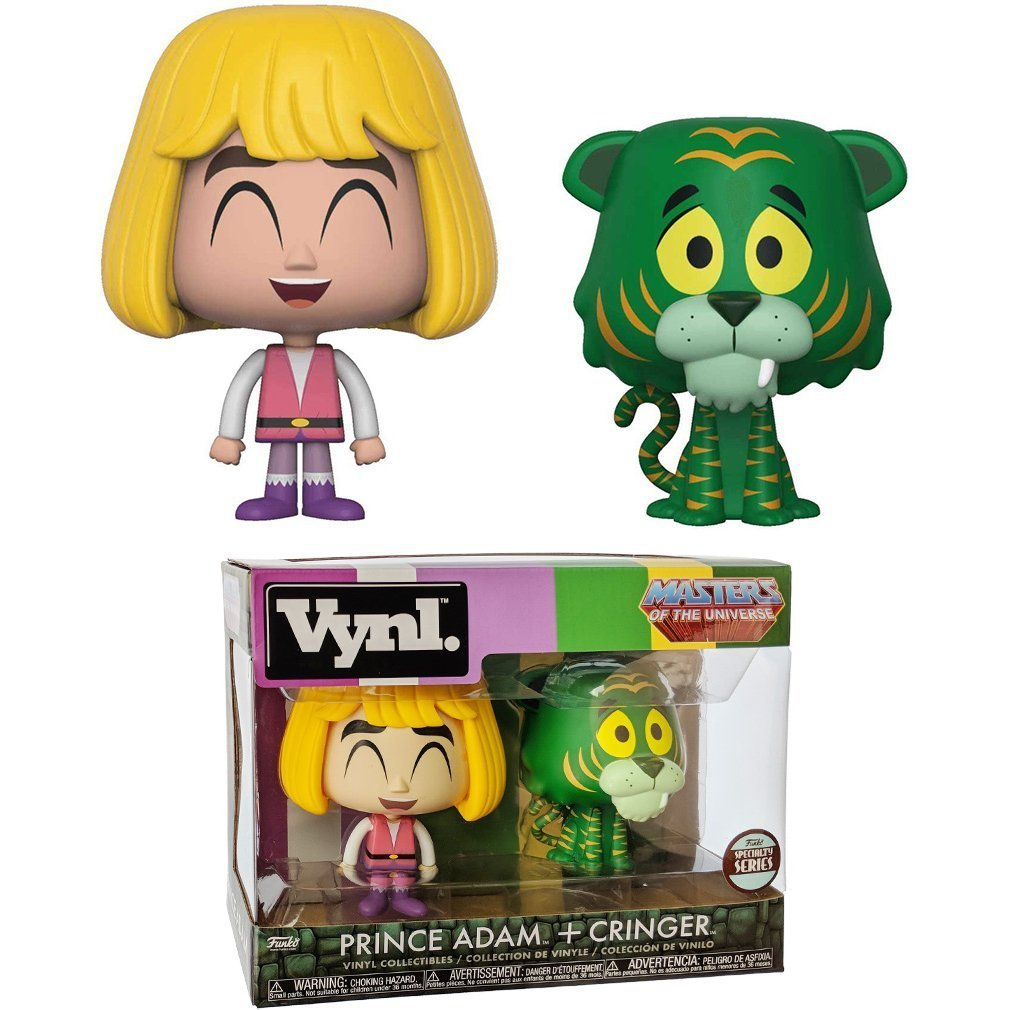 Funko Vynl: Master of the Universe - Prince Adam (He-Man) & Cringer
