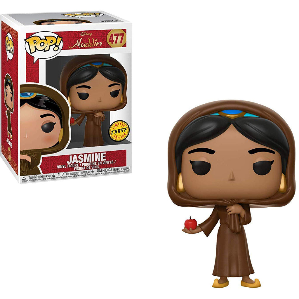 Funko Pop! Disney: Aladdin -Jasmine (Chase) Collectible Figure, Standard, Multicolor