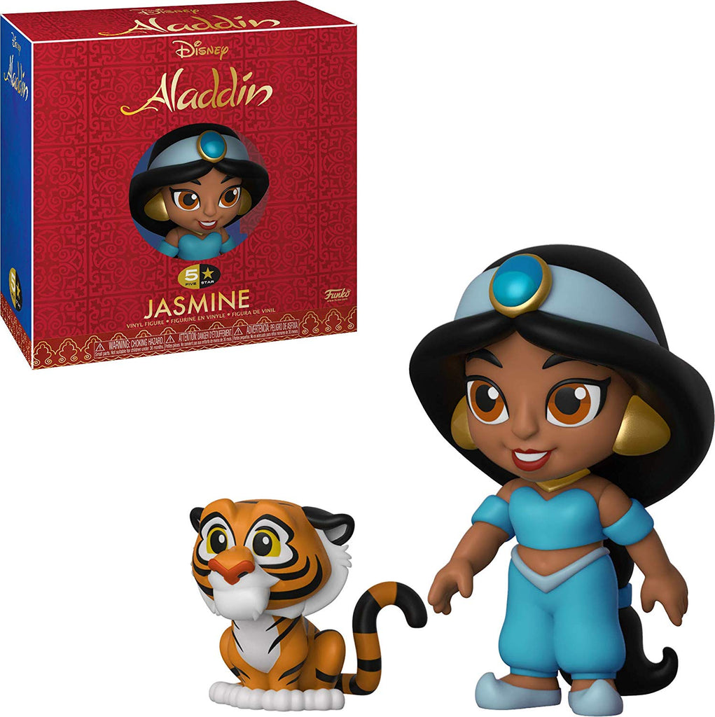 Funko 5 Star -Disney: Aladdin - Jasmine  Toy, Multicolor