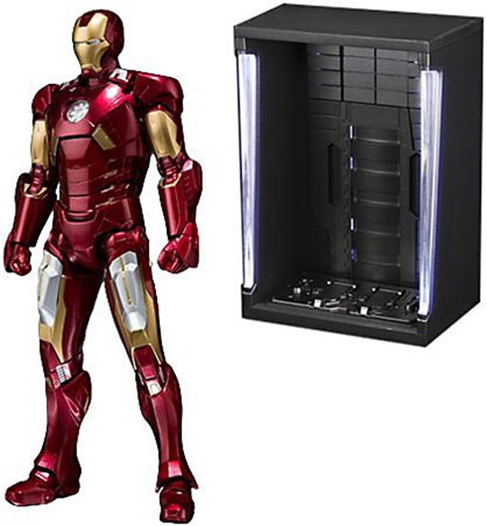 "Tamashii Nations S.H. Figuarts Ironman Mk-7 And Hall Of Armor Set ""Marvel"""