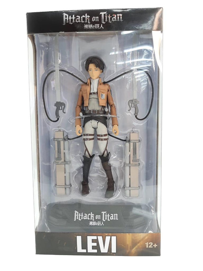 McFarlane -Toys Attack on Titan - Levi Collectible Action Figure