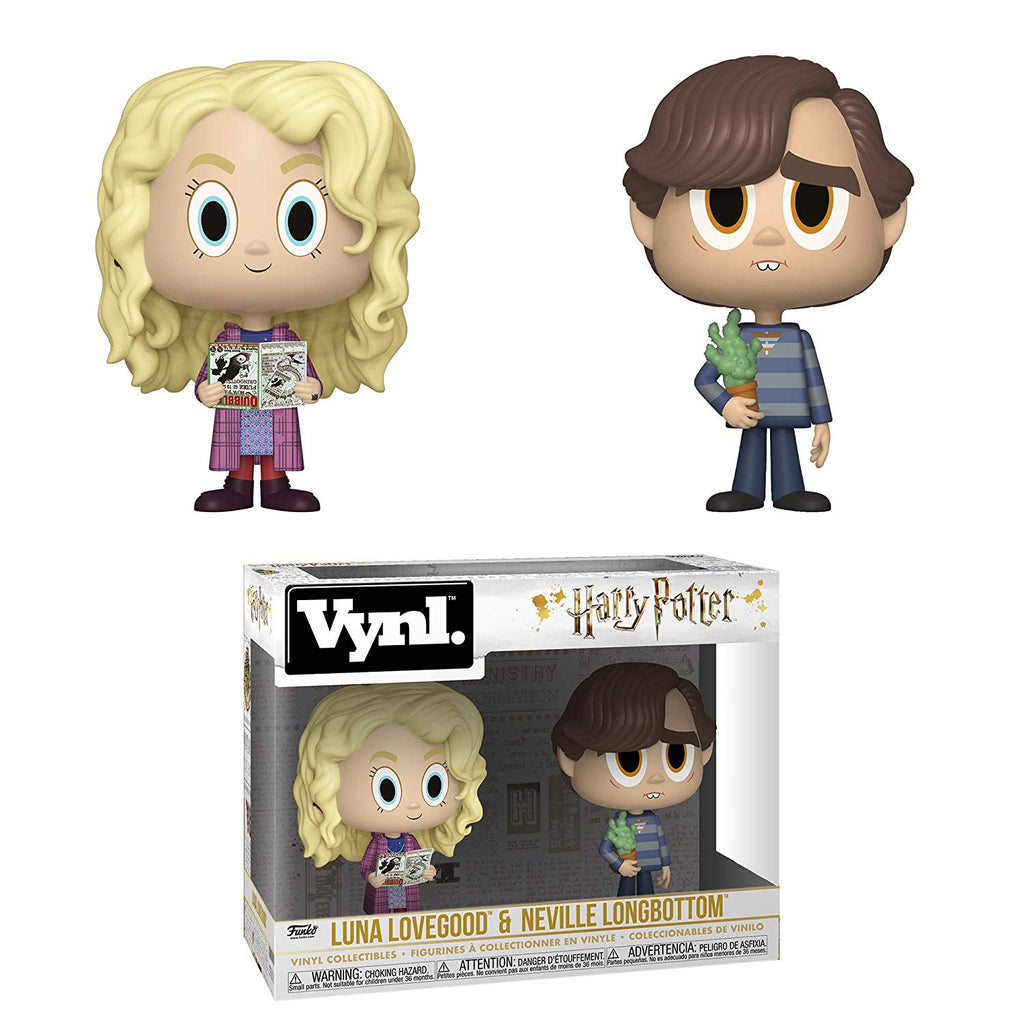 Funko Vynl: Harry Potter - Luna Lovegood & Neville Longbottom,  Collectible Figure, Multicolor