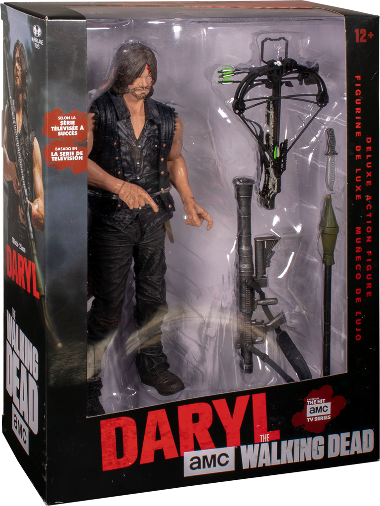 McFarlane Toys The Walking Dead 10-inch Daryl Dixon Deluxe Figure