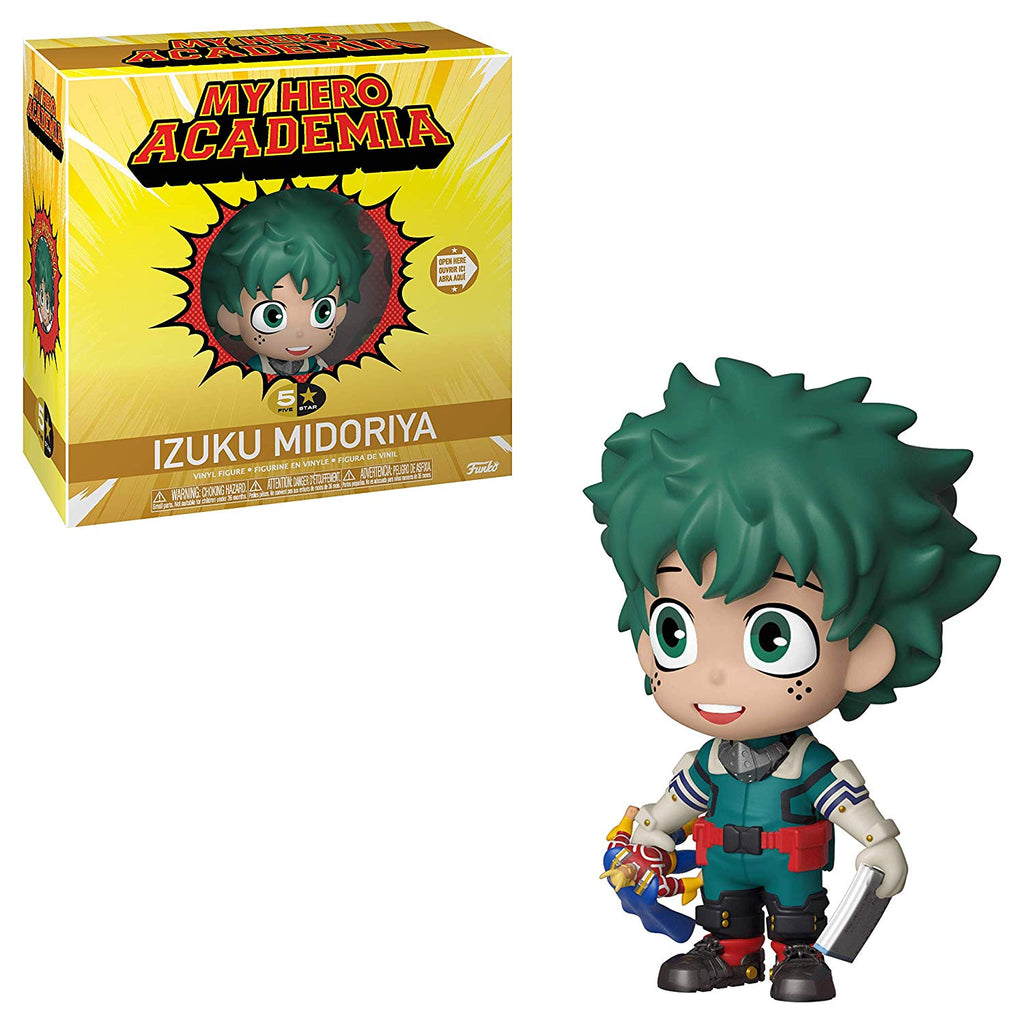Funko 5 Star: Animation:  My Hero Academia -Izuku Midoriya, Toy, Multicolor