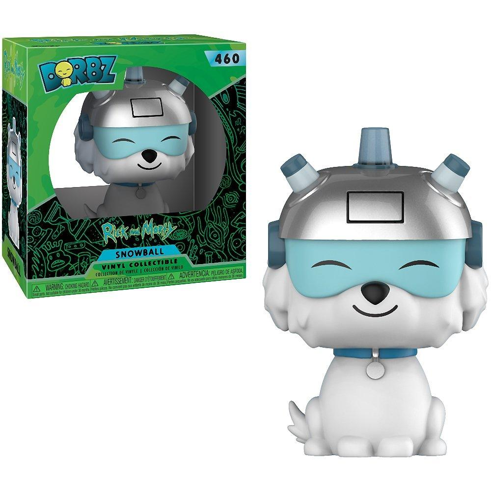 Funko Dorbz: Series -Rick & Morty:  Snow Ball, Standard figure, Multicolor