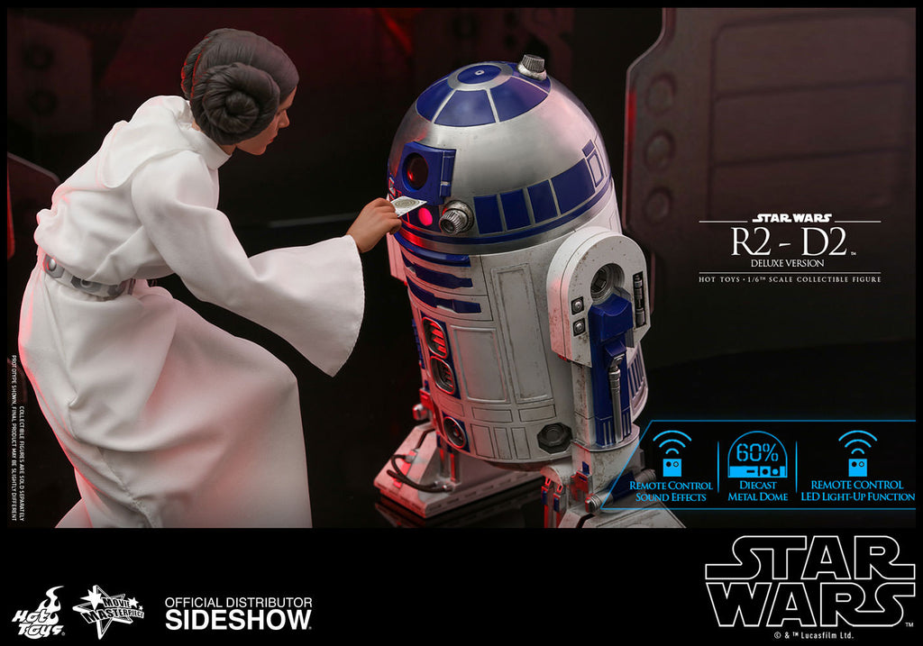 R2-D2 Deluxe Version Movie Hot Toys
