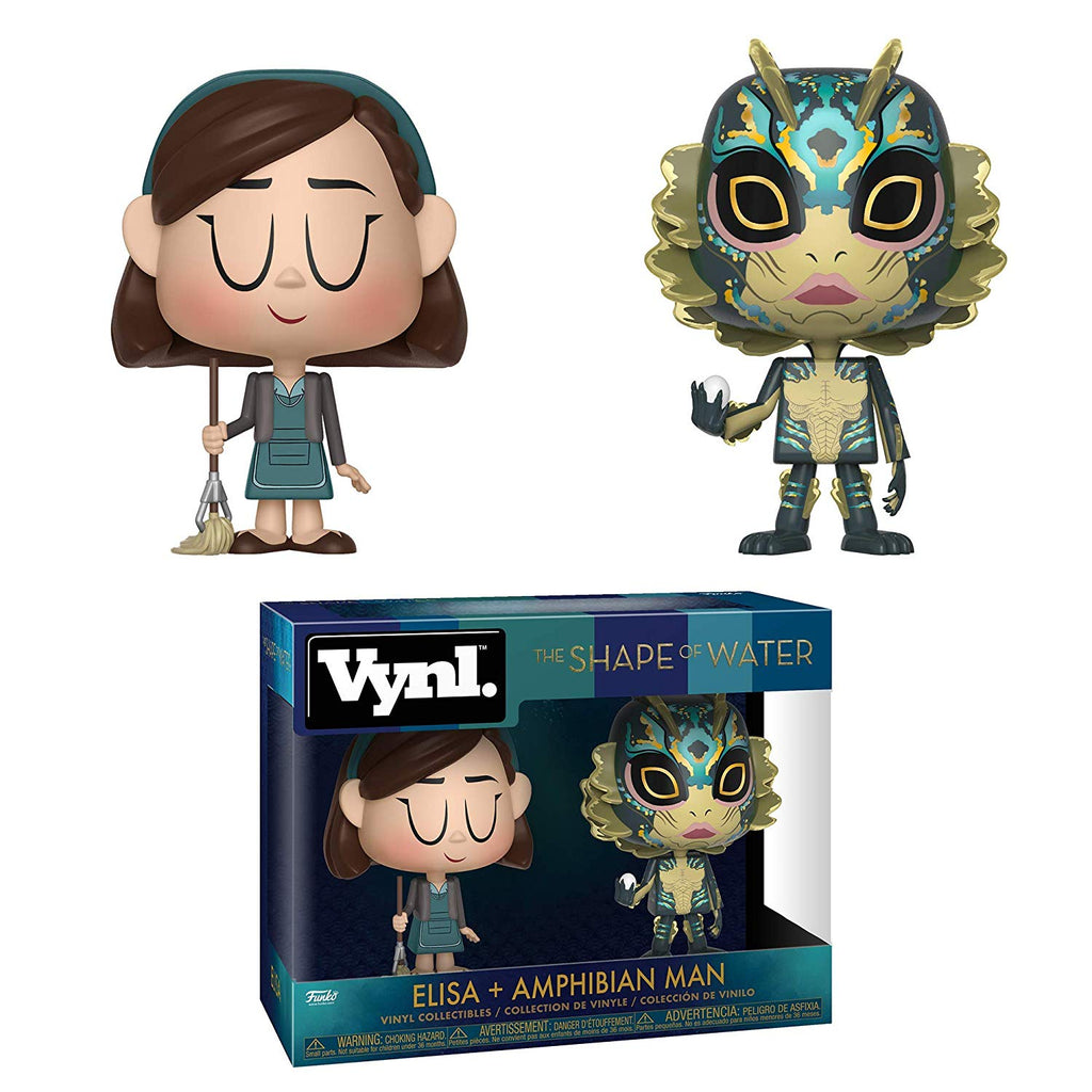 Funko Vynl: Shape of Water - Elisa & Amphibian Man