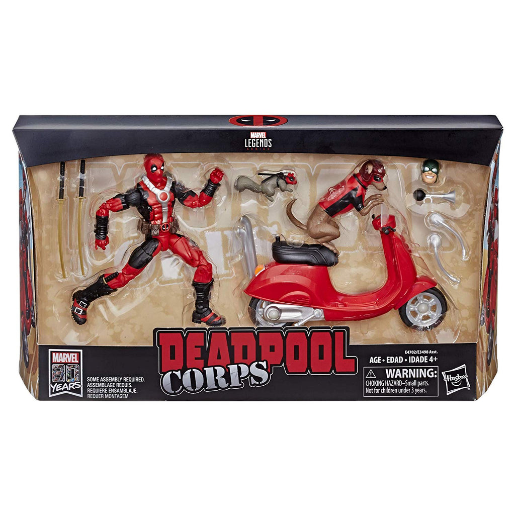"Marvel Legends Series 6"" Deadpool with Scooter"