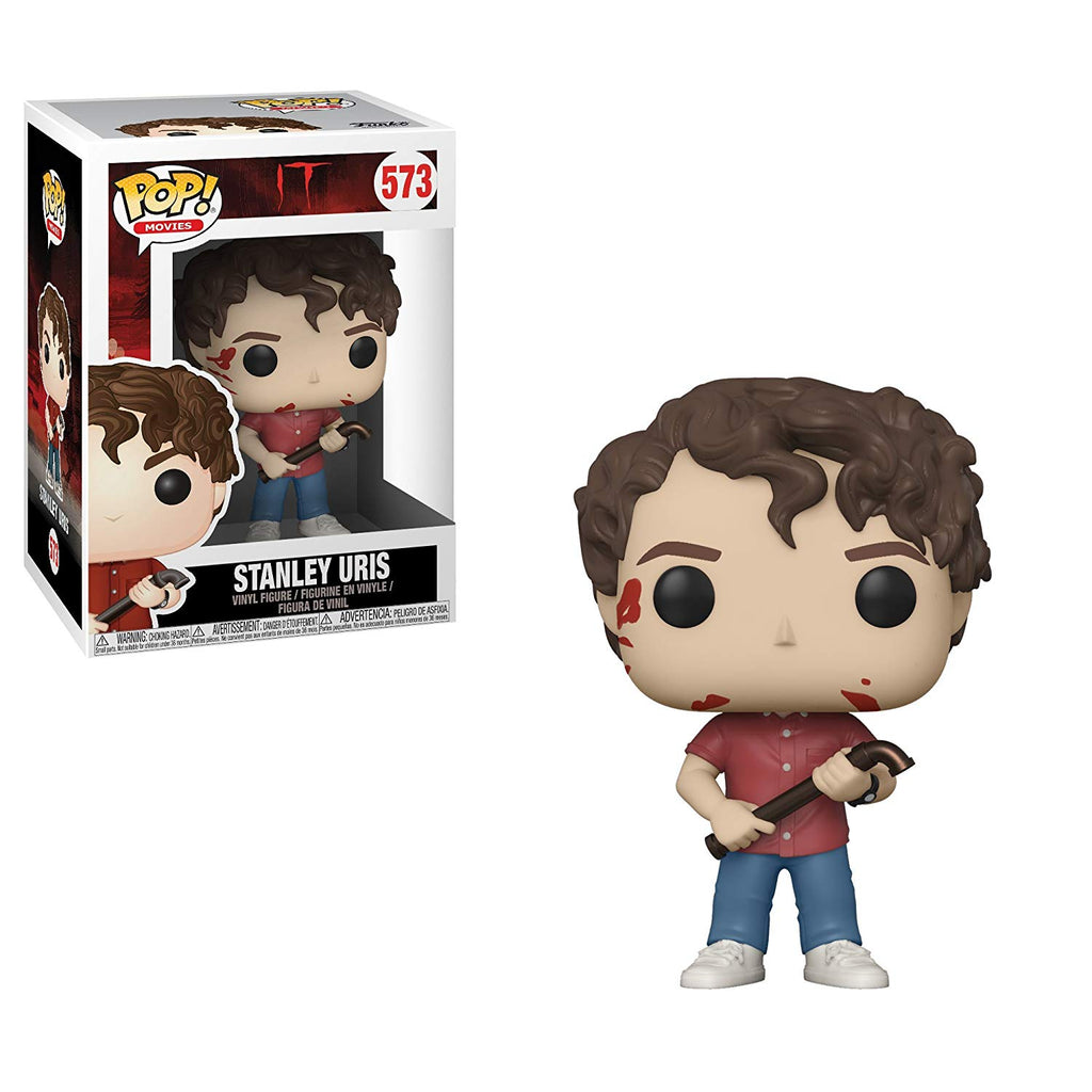 Funko Pop! Movies: It - Stanley Uris Toy Collectible Figure, Standard, Multicolor