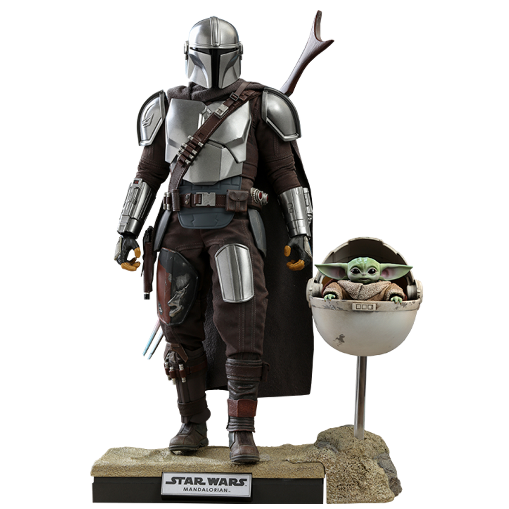 The Mandalorian and The Child (Deluxe) Sixth Scale Collectible Figure Set (PRE ORDEN)