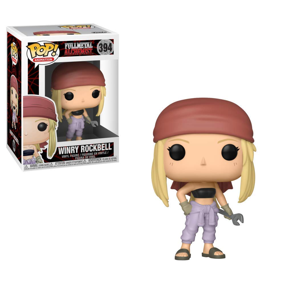 Funko Pop! Anime: FullMetal Alchemist! - Winry Rockbell Toy Collectible Figure, Standard, Multicolor