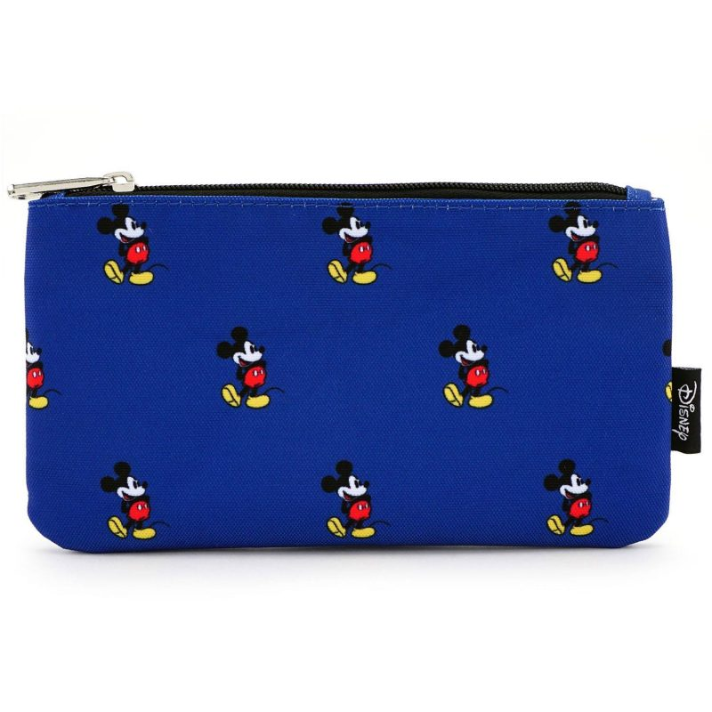 Loungefly Disney Mickey Mouse Cosmetic Bag, character pencil case, multicolor