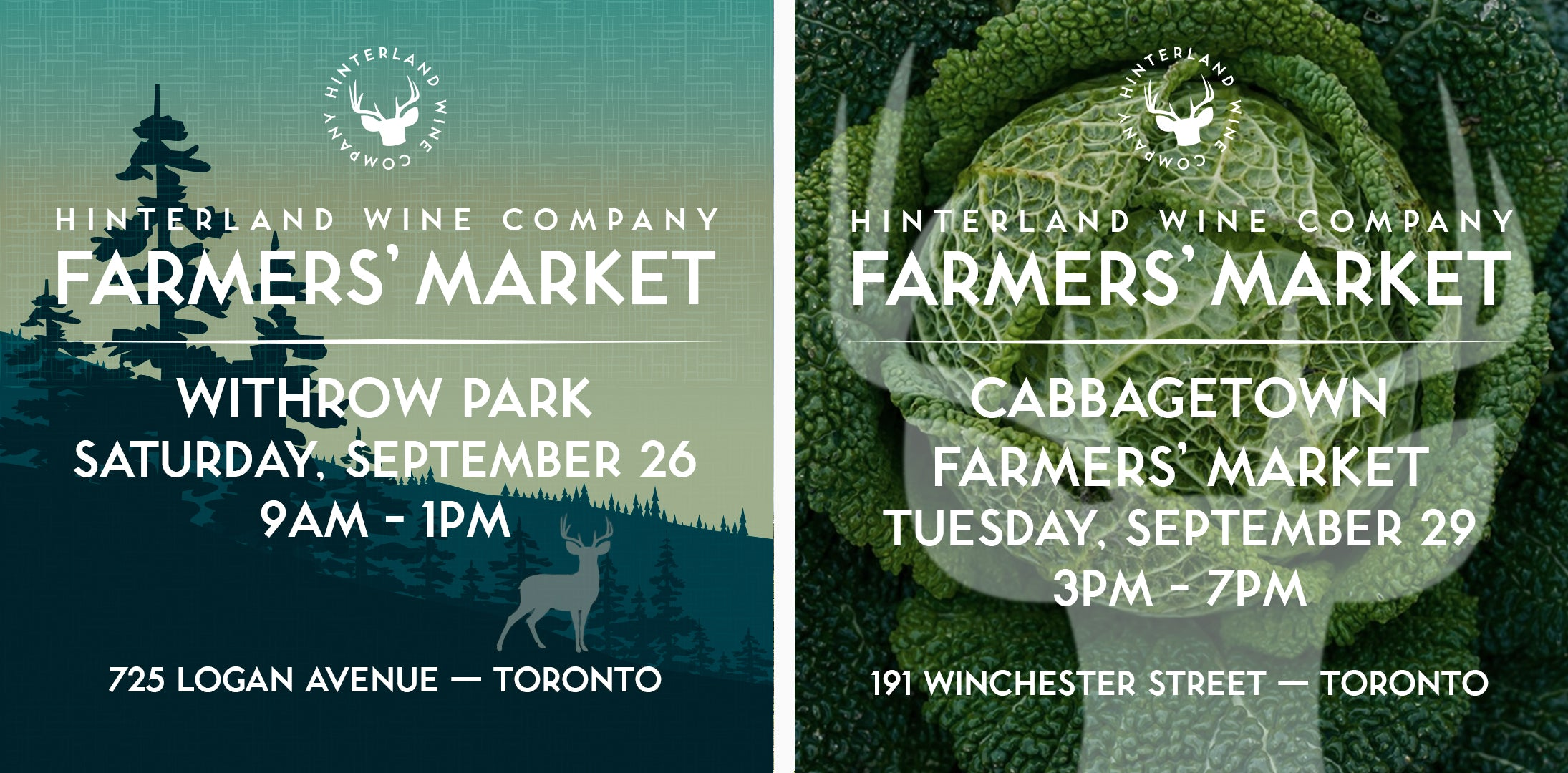 Withrow Park & Cabbagetown markets