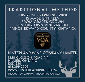 Rosé 2014 Method Traditional — SOLD OUT