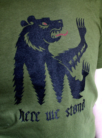 House Mormont // Here We Stand tee