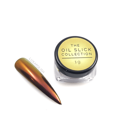 Luxapolish Oil Slick Chrome - Copper Mule