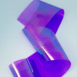 Holographic Glass Film - Purple