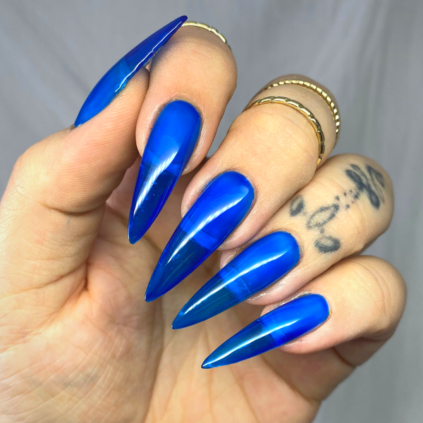 Luxapolish Glass Blue