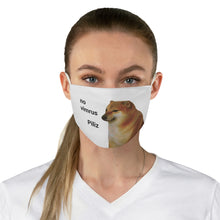 Load image into Gallery viewer, Scared Doge Meme Face Mask - Dankest Meme Merch