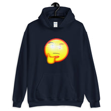 Load image into Gallery viewer, Thinking Emoji With Red Eye Hoodie