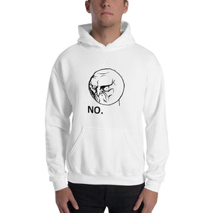 No Angry Rage Face Hoodie