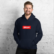 Load image into Gallery viewer, Bruh Red Box Hoodie - Dankest Meme Merch