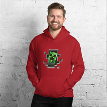 Load image into Gallery viewer, Creeper Minecraft Unisex Hoodie