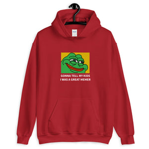 Gonna Tell My Kids Hoodie - Dankest