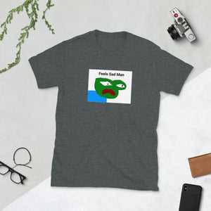 Feels Sad Man Pepe T-Shirt - Dankest