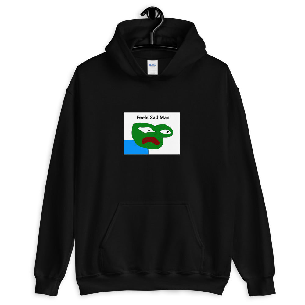 Feels Bad Man Unisex Hoodie - Dankest Meme Merch