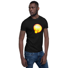 Load image into Gallery viewer, Thinking Emoji With Red Eye T-Shirt