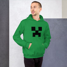 Load image into Gallery viewer, Creeper Face Unisex Hoodie - Dankest Meme Merch