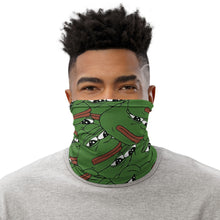 Load image into Gallery viewer, Pepe Unisex Neck Gaiter - Dankest