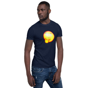 Thinking Emoji With Red Eye T-Shirt