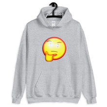 Load image into Gallery viewer, Thinking Emoji With Red Eye Hoodie - Dankest Meme Merch