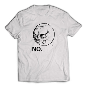 No Angry Rage Face T-Shirt