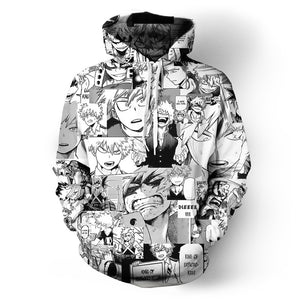Anime All Over Hoodie