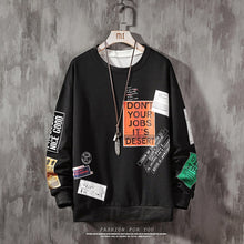 Load image into Gallery viewer, Harajuku Oversized Pullover Sweatshirt - Dankest