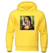 Load image into Gallery viewer, Mona Lisa Lollipop Lips Hoodie - Dankest