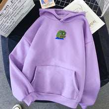 Load image into Gallery viewer, Sad Mini Pepe Hoodie - Dankest Meme Merch