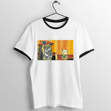 Load image into Gallery viewer, Yelling Woman At Cat Meme T-Shirt - Dankest
