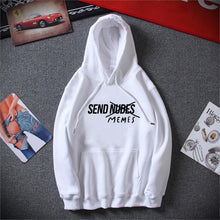 Load image into Gallery viewer, Send Memes Hoodie - Dankest Meme Merch