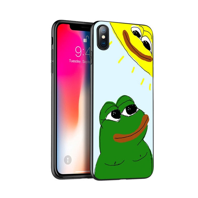 Pepe V 1.0 Phone Cases - Dankest Meme Merch