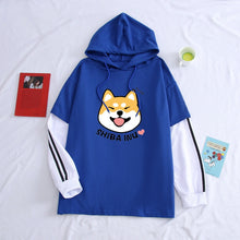Load image into Gallery viewer, Shiba Inu Doge Kawaii Hoodie - Dankest Meme Merch