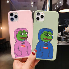 Load image into Gallery viewer, Pepe iPhone Case