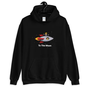 To The Moon Hoodie